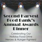 Second Harvest Food Bank Annual Awards DINNER Announcement for  (Small)