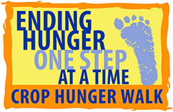 CROP Hunger Walk logo Ending Hunger One Step at a Time